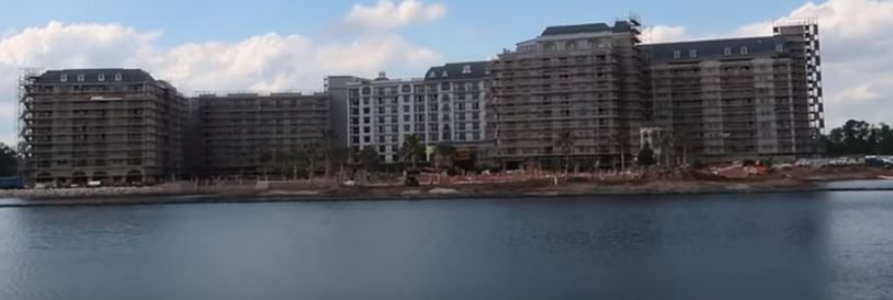 Disney's Riviera Resort Construction
