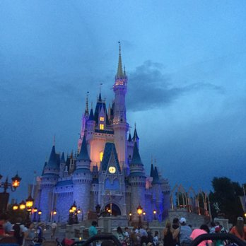 Cinderella's Castle Night Time