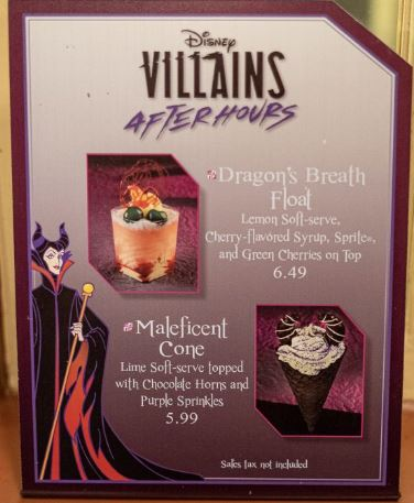 Disney Villains After Hours Maleficent Cone