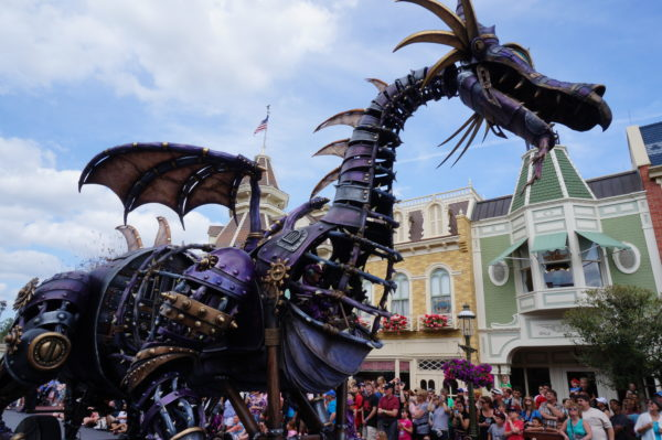Disney World Maleficent Dragon