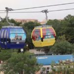 Disney Skyliner Gondola Frozen and Beauty and the Beast Cars
