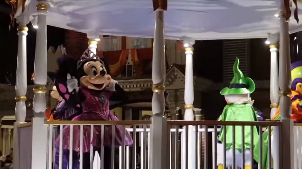 Minnie Mouse Boo To You Parade Mickeys Not So Scary Halloween Magic Kingdom